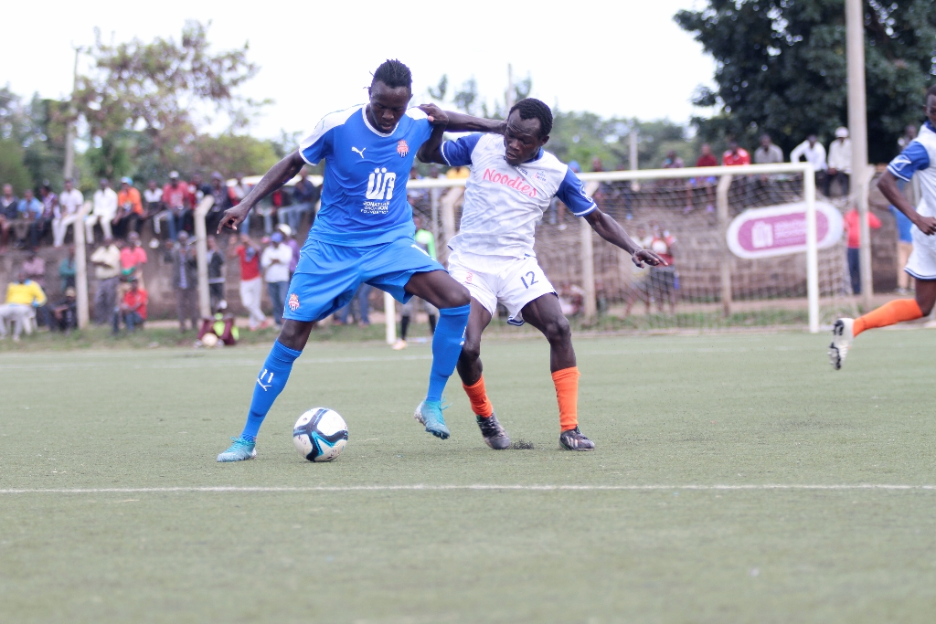 Nairobi City Stars open 10-point gap with comeback win over Bidco United