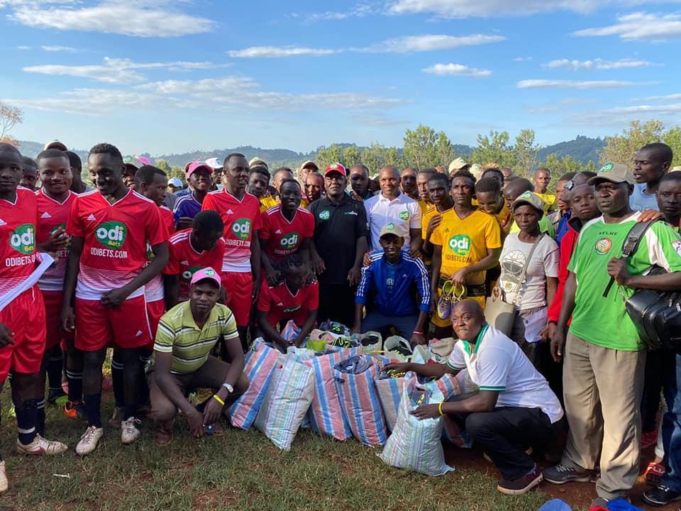 Kisii, Nyamira football clubs  benefit from OdiBets, FKF grassroots partnership