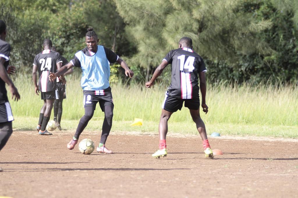 Ushuru FC Top Scorer Brian Yakhama