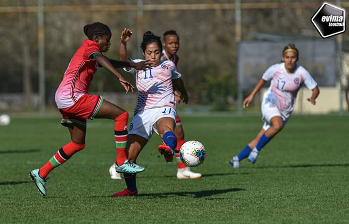 Harambee Starlets starting lineup for Ghana Turkish Women Cup named