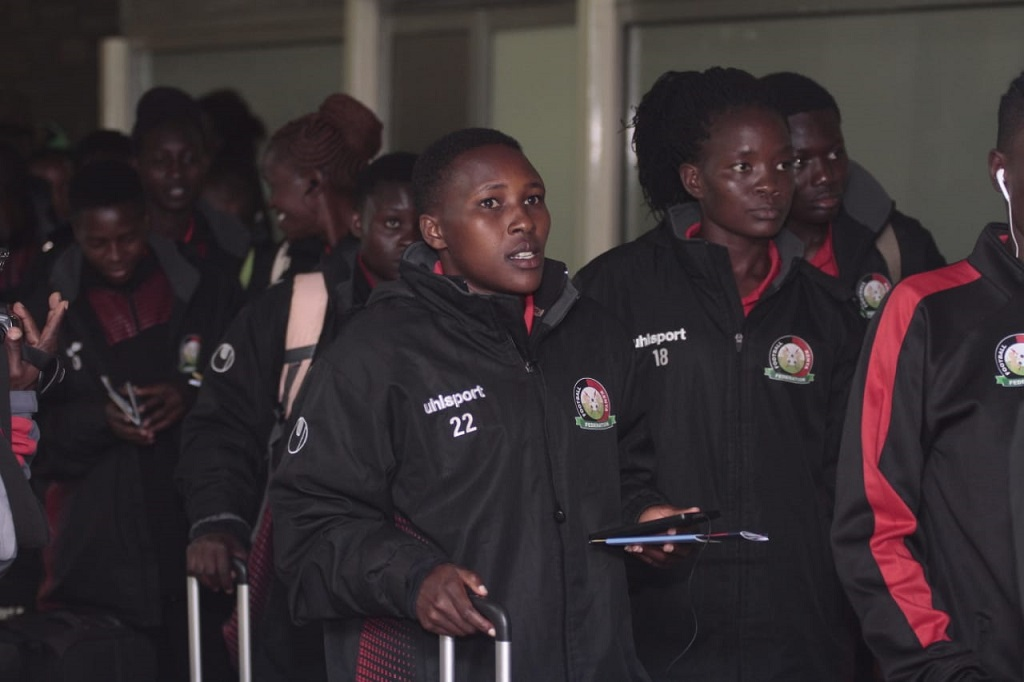 Harambee Starlets jet out to Turkey, all set for Turkish Women's Cup