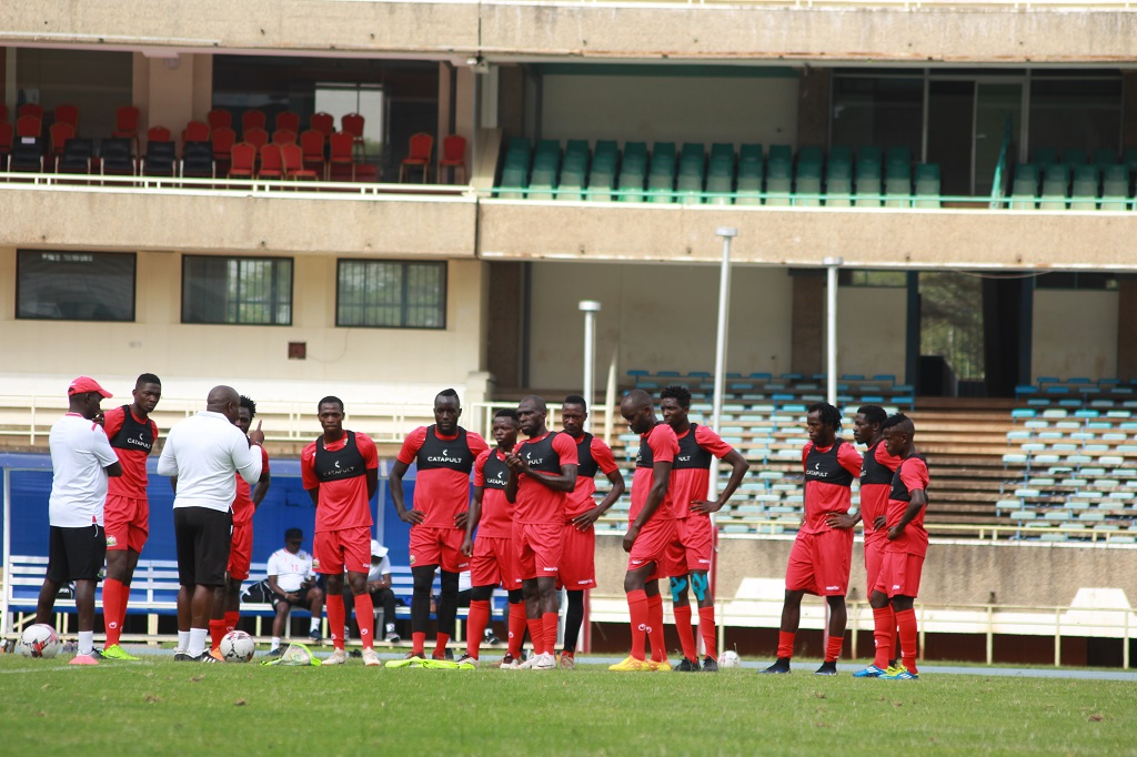 Harambee Stars hit camp ahead of Comoros AFCON Qualifier match