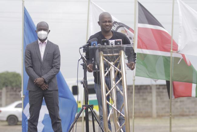 FKF President Barry Otieno