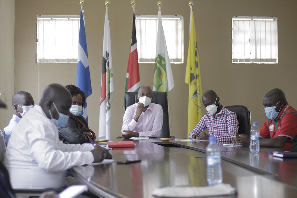 FKF President convenes return to football formula meeting with members