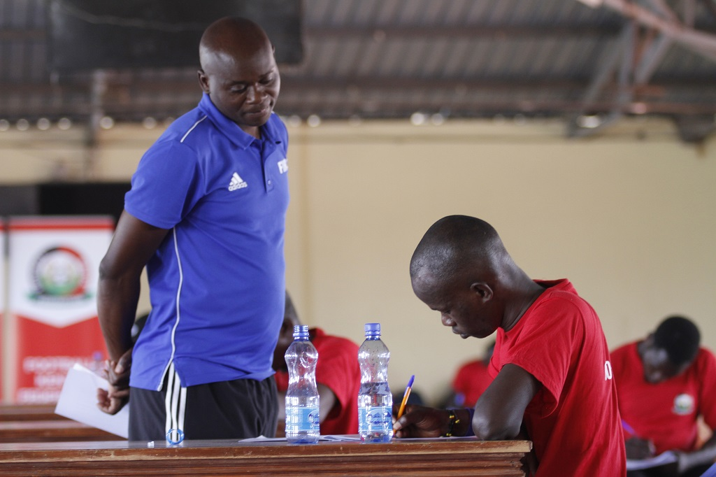 Knowledge put to the test in Kajiado CAF D Coaching Course