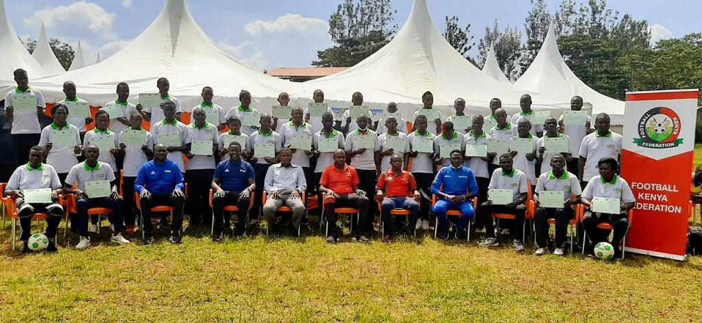 CAF D License Coaching Course culminates in Luanda