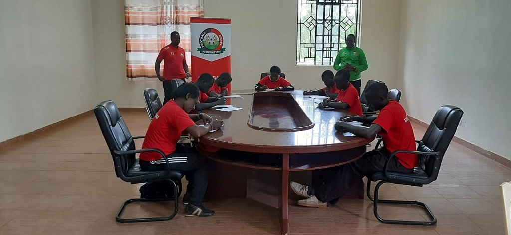 Luanda coaches put to the test in CAF D coaching course