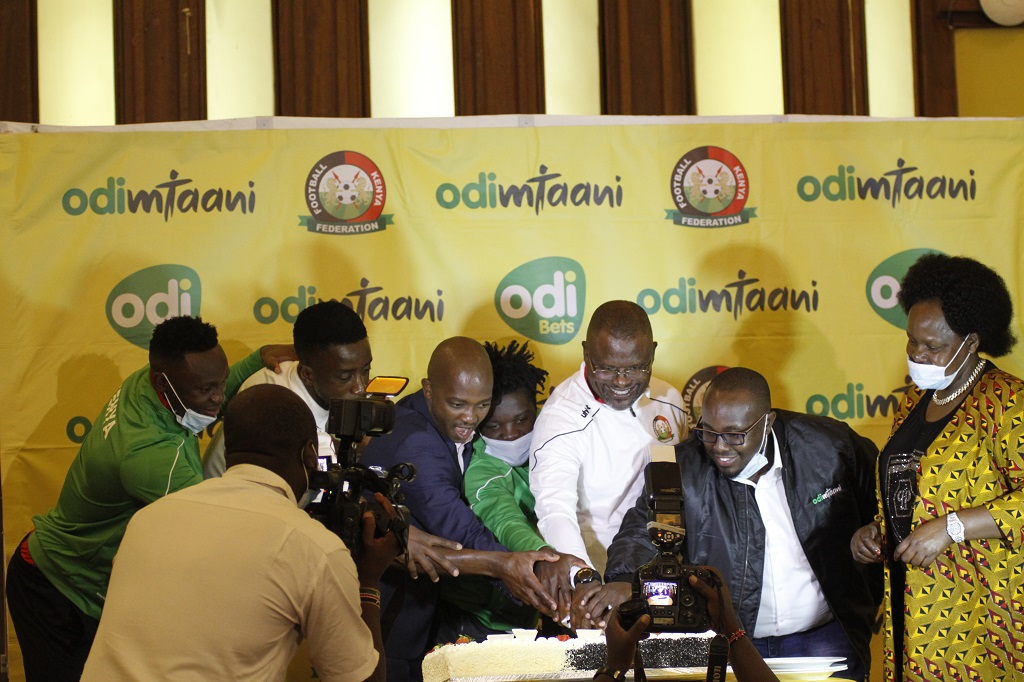 Odibets sends off Harambee Stars in style to Comoros