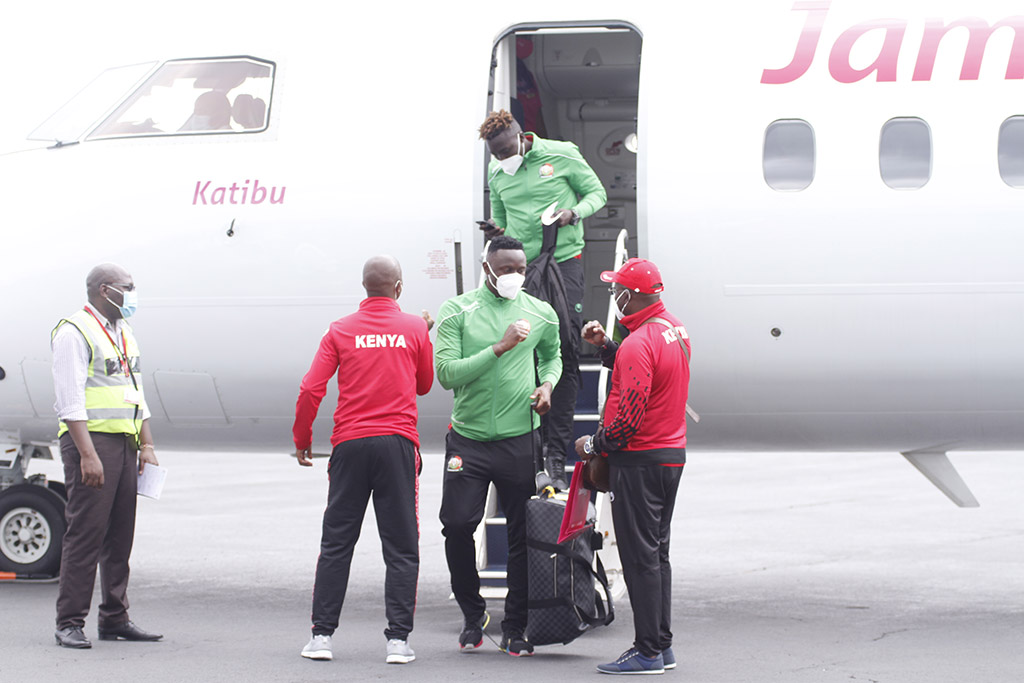 Harambee Stars safely arrive in Moroni, all set for Comoros AFCON Qualifier